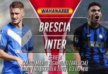 Prediksi Brescia vs Inter 30 Oktober 2019