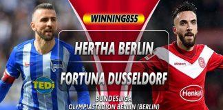 Prediksi Hertha Berlin vs Fortuna