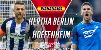 Prediksi Hertha Berlin vs Hoffenheim 26 Oktober 2019