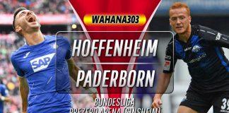 Prediksi Hoffenheim vs Paderborn 2 November 2019