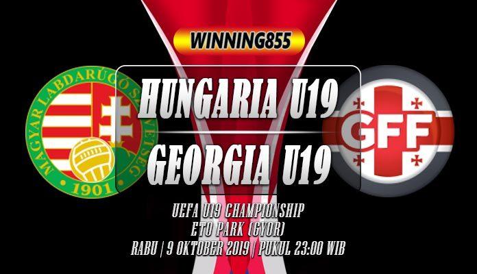 Prediksi Hungaria U19 vs Georgia U19 9 Oktober 2019