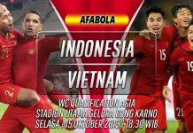 Prediksi Indonesia vs Vietnam 15 Oktober 2019