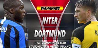 Prediksi Inter vs Dortmund 24 Oktober 2019