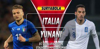 Prediksi Italia vs Yunani 13 Oktober 2019