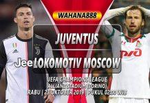 Prediksi Juventus vs Lokomotiv Moscow 23 Oktober 2019