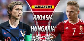 Prediksi Kroasia vs Hungaria 11 Oktober 2019