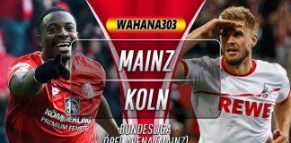 Prediksi Mainz vs Koln 26 Oktober 2019