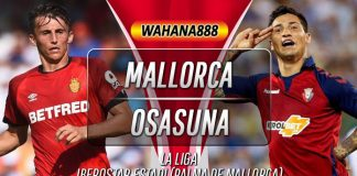 Prediksi Mallorca vs Osasuna 1 November 2019