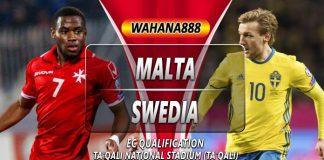 Prediksi Malta vs Swedia 13 Oktober 2019