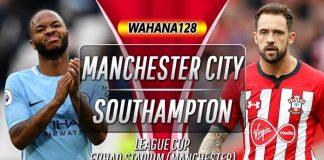 Prediksi Manchester City vs Southampton 30 Oktober 2019