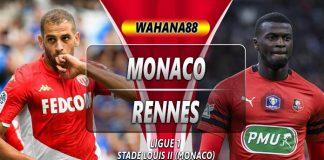 Prediksi Monaco vs Rennes 20 Oktober 2019