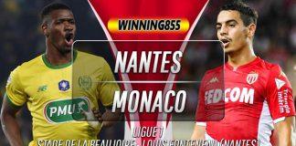 Prediksi Nantes vs Monaco 26 Oktober 2019