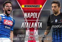 Prediksi Napoli vs Atalanta 31 Oktober 2019