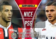 Prediksi Nice vs PSG 19 Oktober 2019