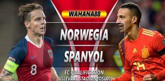 Prediksi Norwegia vs Spanyol 13 Oktober 2019