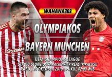 Prediksi Olympiakos vs Bayern Munchen 23 Oktober 2019