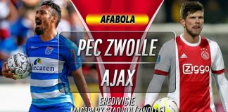 Prediksi PEC Zwolle vs Ajax 2 November 2019