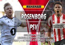Prediksi Rosenborg vs PSV Eindhoven 04 Oktober 2019