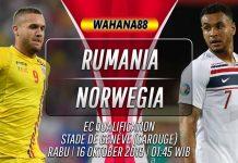 Prediksi Romania vs Norwegia 16 Oktober 2019