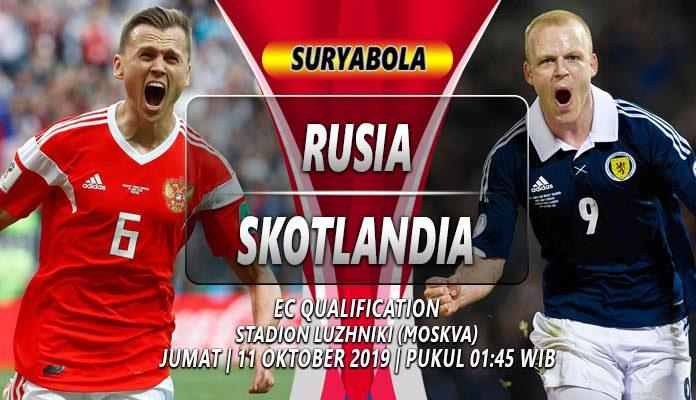 Prediksi Rusia vs Skotlandia 11 Oktober 2019