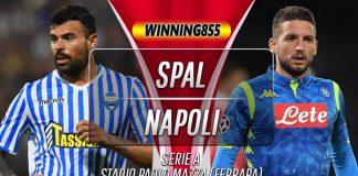 Prediksi SPAL vs Napoli 27 Oktober 2019