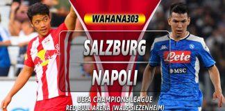 Prediksi Salzburg vs Napoli 24 Oktober 2019