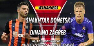Prediksi Shakhtar Donetsk vs Dinamo Zagreb 22 Oktober 2019