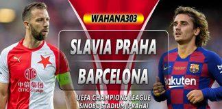Prediksi Slavia Praha vs Barcelona 24 Oktober 2019