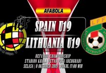 Prediksi Spanyol U19 vs Lithuania U19 08 Oktober 2019