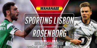 Prediksi Sporting Lisbon vs Rosenborg 25 Oktober 2019