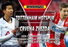 Prediksi Tottenham Hotspur vs Crvena Zvezda 23 Oktober 2019