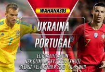 Prediksi Ukraina vs Portugal 15 Oktober 2019
