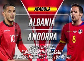 Prediksi Albania vs Andorra 15 November 2019