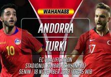 Prediksi Andorra vs Turki 18 November 2019