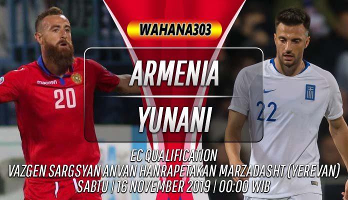 Prediksi Armenia vs Yunani 16 November 2019