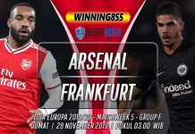 Prediksi Arsenal vs Eintracht Frankfurt 29 November 2019