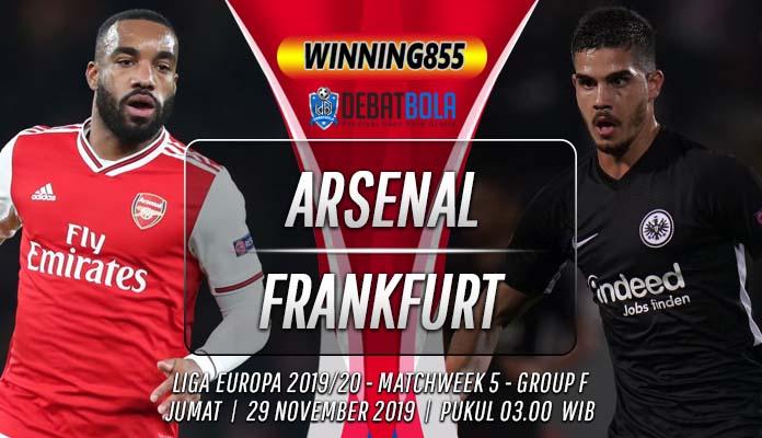 Prediksi Arsenal vs Eintracht Frankfurt 29 November 2019