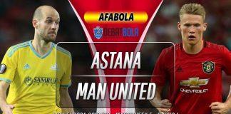 Prediksi Astana vs Manchester United 28 November 2019