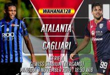Prediksi Atalanta vs Cagliari 3 November 2019