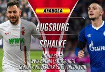 Prediksi Augsburg vs Schalke 4 November 2019