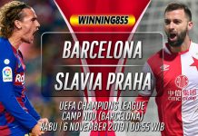 Prediksi Barcelona vs Slavia Praha 6 November 2019