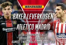Prediksi Bayer Leverkusen vs Atletico Madrid 7 November 2019