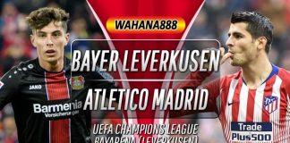 Prediksi Bayer Leverkusen vs Atletico Madrid 7 November 2019