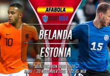 Prediksi Belanda vs Estonia 20 November 2019