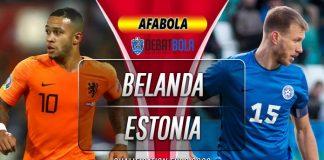 Prediksi Belanda vs Estonia 20 November 2019