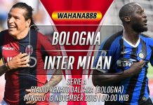 Prediksi Bologna vs Inter 3 November 2019