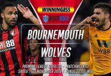 Prediksi Bournemouth vs Wolves 23 November 2019