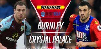 Prediksi Burnley vs Crystal Palace 30 November 2019