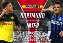 Prediksi Dortmund vs Inter 6 November 2019