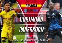 Prediksi Dortrmund vs Paderborn 23 November 2019